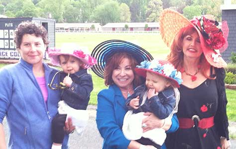 2017 Kentucky Derby Day Ladies Hat Contest winners