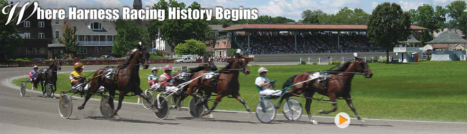 Harness racing history begins at Goshen Historic Track with trotters and pacers